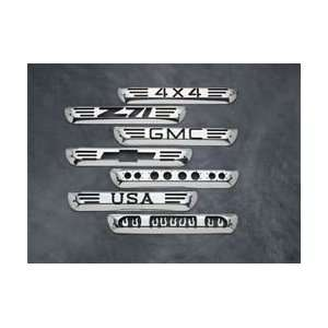 All Sales 95000P Polished Billet Aluminum Third Brake Light Cover