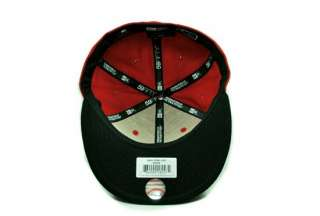59FIFTY 5950 MLB BASEBALL CAP NEW YORK YANKEES RED BLACK TROWNBACK HAT