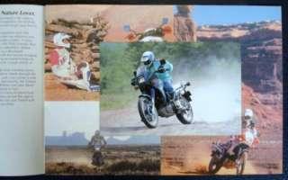 YAMAHA XTZ 660 TENERE MOTORCYCLE SALES BROCHURE C 1993.