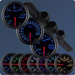 GlowShift 98 02 Dodge Ram w/ A Pillar Speaker Diesel Gauge