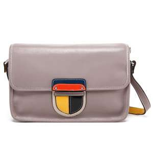 Leather ladies modern fashion new designer Messenger hand bag #164244