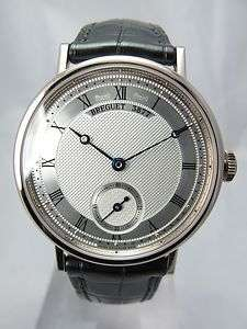 CLASSIQUE 5907 18K WHITE GOLD MANUAL WIND MINT BOX & PAPERS 2011 WATCH