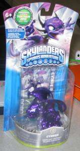 Toy Fair 2012 Exclusive Skylanders Cynder Metallic Purple Promo Figure