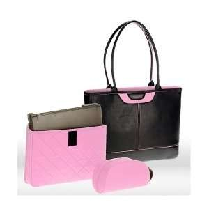 black w/ pink) Laptop Bag for Women   Tuscany: Computers & Accessories