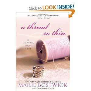 Thread so Thin [Large Print} (9781616642723) Marie Bostwick Books