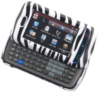 NEW ZEBRA SKIN COVER CASE FOR AT&T LG XENON GR500 PHONE