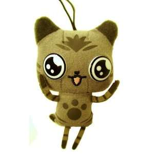 Monster Hunter Plush Mascot Felyne Airu Grey 3 Toys