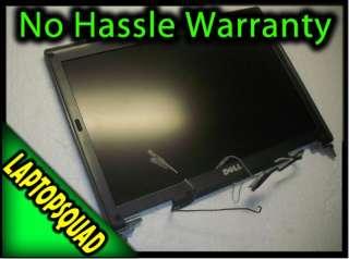 DELL Latitude D620 D630 LCD WXGA COMPLETE SCREEN w/ Hinges, Antenna