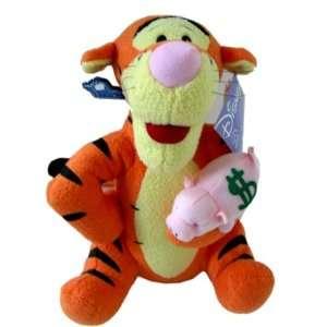 Winne the Pooh Tigger Plush Bank 10 Inch Toys & Games