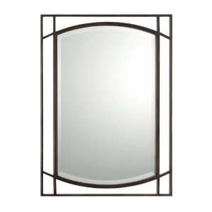 38 Large Brookings Wall Mirror from the Quoizel Mi