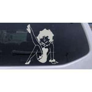 Betty Boop Leg Kicked Up Cartoons Car Window Wall Laptop Decal Sticker