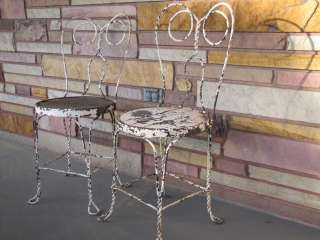 Chairs   Set of (2)   Wrought Iron Decorative Garden Furniture