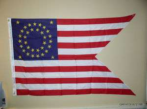 CAVALRY GUIDON USA American Union Civil War LARGE FLAG