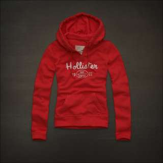 NWT HOLLISTER Abercrombie Womens IMPERIAL BEACH Sweatshirt Fleece
