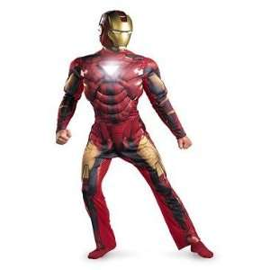 Iron Man 2 Mark VI Deluxe Light Up Deluxe Mens Toys