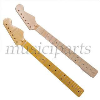 quality Maple Guitar Neck 22 Fret Full Fretjob W/nut for fender strat