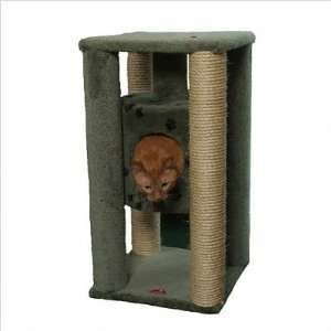 Suspended Cat Condo with Sisal Scratching Posts Color