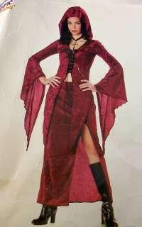 Womens Dark Angel Vampire Outfit Halloween Costume
