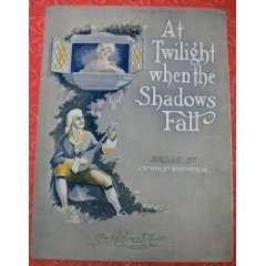 At Twilight When the Shadows Fall (Ballad): Jr. J. Stanley