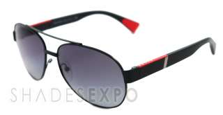 NEW Prada Sunglasses SPS 52M BLACK 1BO 3M1 SPS52M AUTH