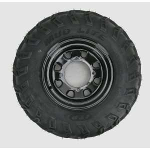Mud Lite AT 25x8 12 Tire w/Black Delta Steel Wheel