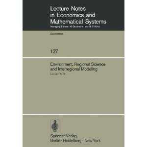Systems) (9783540076933): M. Chatterji, P. van Rompuy: Books