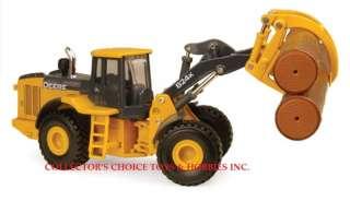 JOHN DEERE 824K LOG LOADER 1/50 ERTL NEW 45200