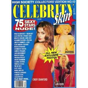 13 Madonna, Cindy Crawford, Sharon Stone, Cher: Celebrity Skin: Books