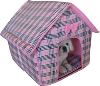 Soft Collapsible Indoor Pet Dog Cat Bed Furniture House