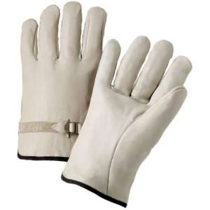 West Chester 990LS Leather Glove, 10 Length, Large (Pack of 12 Pairs