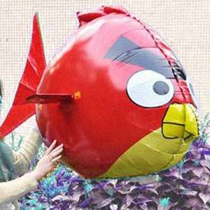 Angry Birds Bright Red Bird Remote Control Plane Inflatable 2CH