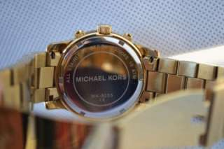 Michael Kors Gold Tone Womens Watch MK5305 #41