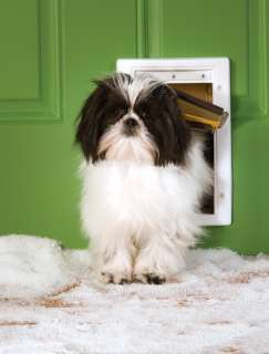 PET SAFE SMALL ALL WEATHER DOG CAT DOOR PATIO WINDOW