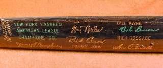 1981 New York Yankees   World Series Black Bat NM MT