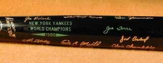 1998 New York Yankees World Series Black Bat MINT