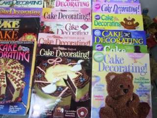 Wilton Cake Decorating Year Book 1970 2011 complete set
