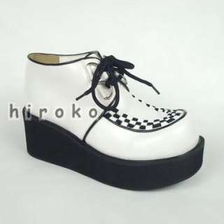 PUNK COS LOLITA visual kei fashion platform shoes
