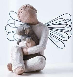 Willow Tree Figurine   Angel of Comfort   NEW