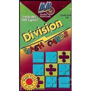 Division Flash Cards (Math Facts Self Teaching Aid Provides Drills