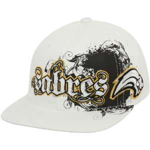 Buffalo Sabres White Clawson Closer Flex Fit Hat: Sports & Outdoors