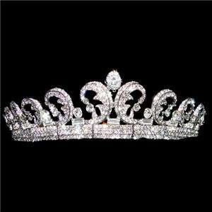 Replica Kate & William Royal Swarovski Crystal Wedding Hair Crown