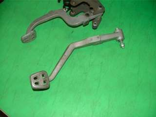 Corvette C5 LS1 MT CLUTCH AND BRAKE PEDALS OEM 97 04 Z06 6SPD