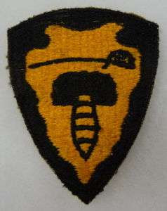 ORIGINAL WW2 VINTAGE 64th CAVALRY DIVISION PATCH