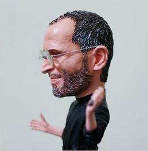 18cm Steve Jobs Resin Figurine Figure Model Doll,hand with iphone