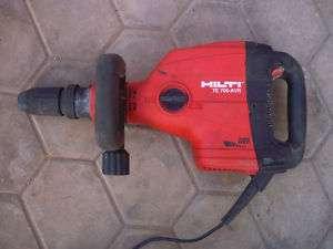 HILTI TE 706 AVR DEMOLITION HAMMER 220 240V
