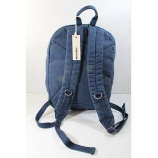 Diesel New Generation Max Backpack Blue $100 BNWT 100% Authentic