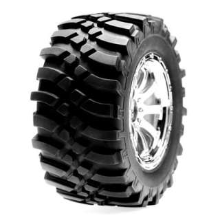 LOSI LOSB7441 FRONT WHEELS/TIRES CHROME HIGHroller NEW