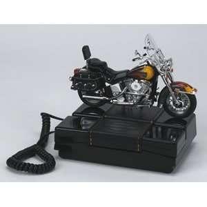 Harley Davidson Flames Desk Phone