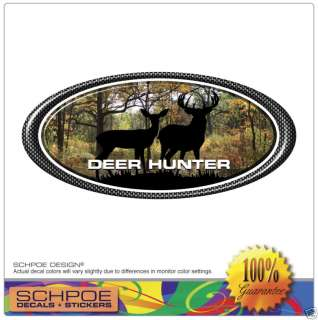 Deer camo decal hunting buck doe bow track archery