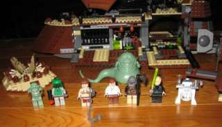 2006 Lego Star Wars Set# 6210 Jabbas Sail Barge 781Pcs 8Figs w